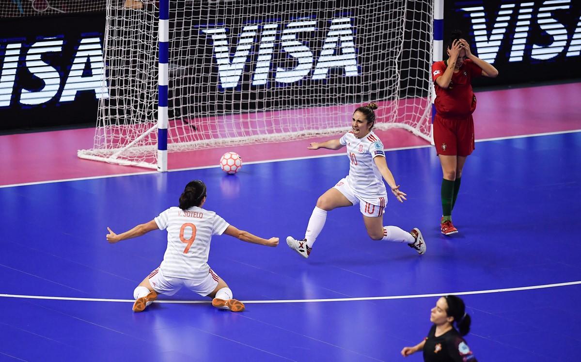 La Selección Española de Fútbol Sala Femenino Campeona de Europa de inicio a fin