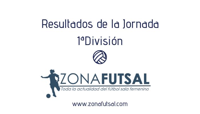 Resultados de Primera División Fútbol Sala Femenino. Jornada 18