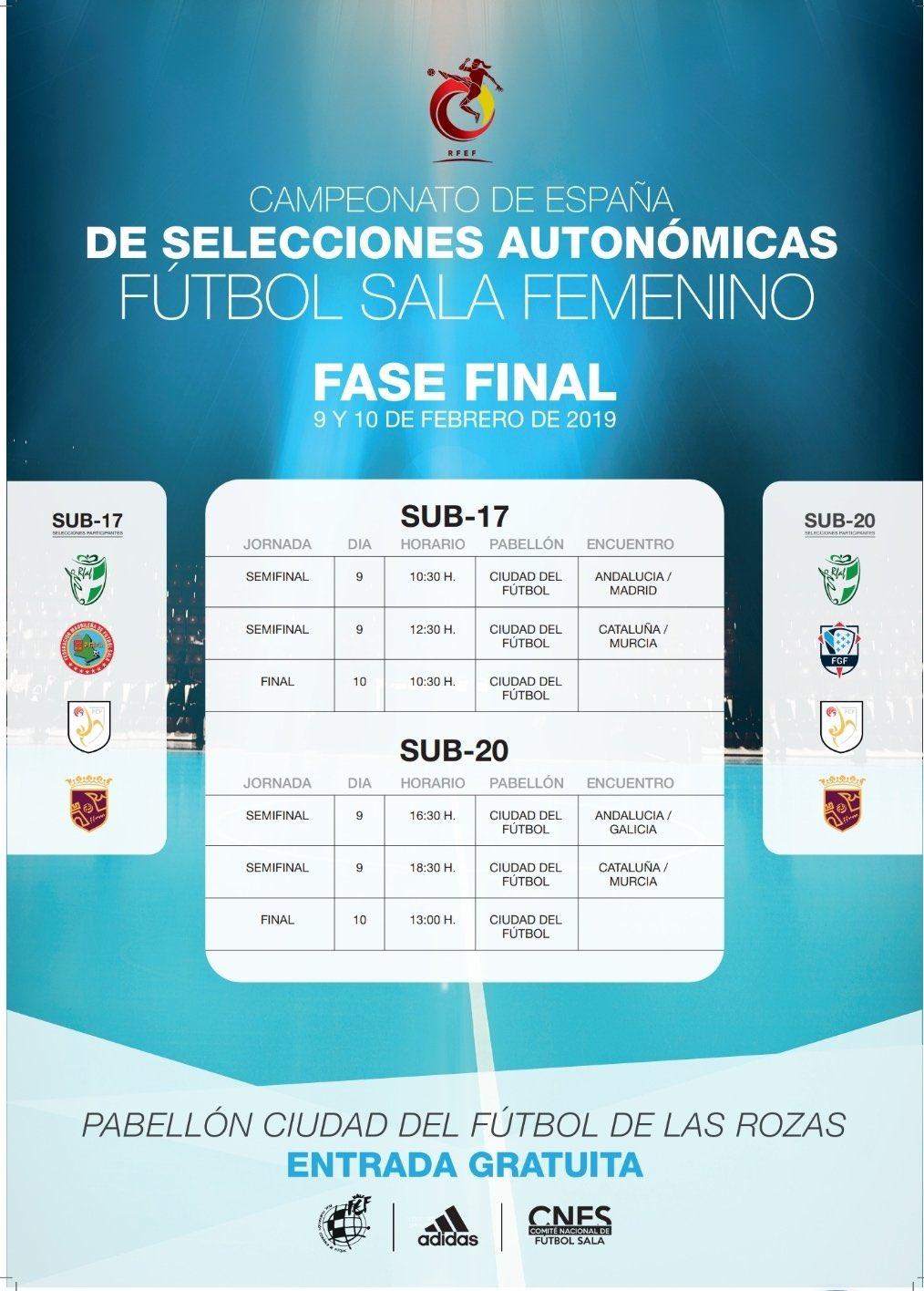 Vídeo Resúmenes de las Finales del Campeonato de España Sub 17 y Sub 20