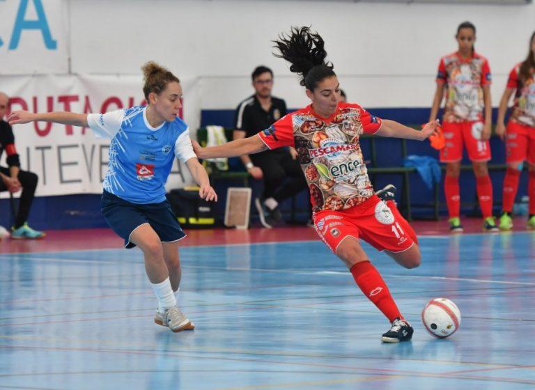 """Andrea Feijoo (Jugadora Majadahonda FSF): """"Mantengo la ilusión con la que empecé la temporada y me encuentro motivada para seguir aprendiendo y mejorando."""""""