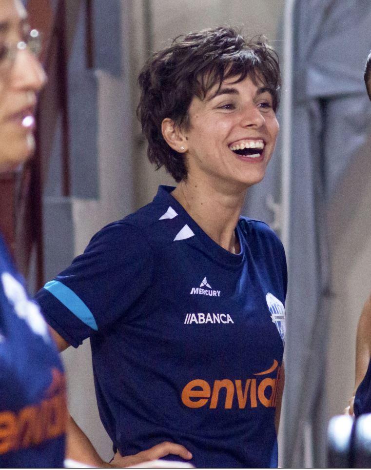 """Marta Figueiredo (Jugadora de Ourense Envialia FSF): """"Si queremos estar en la Copa debemos salir cada sábado a vaciarnos para intentar hacernos con los tres puntos. Es la única manera de merecernos estar ahí, entre los mejores de España."""""""