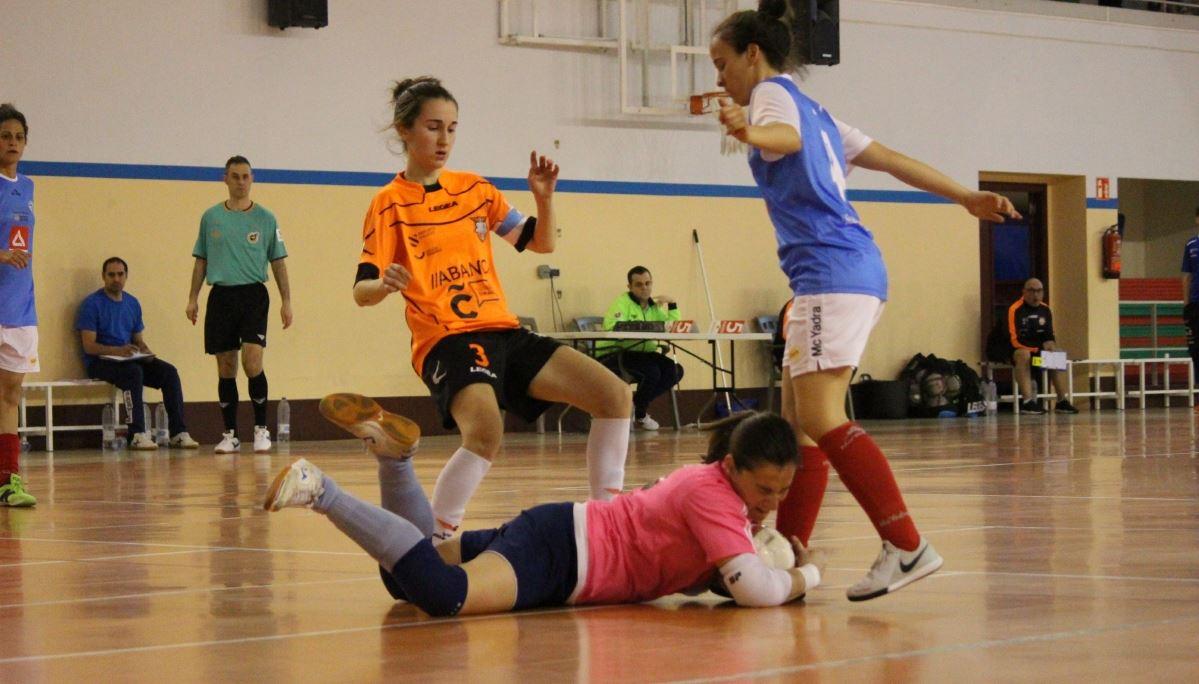 La falta de acierto condena al Viaxes Amarelle FSF a una derrota frente a un rival directo