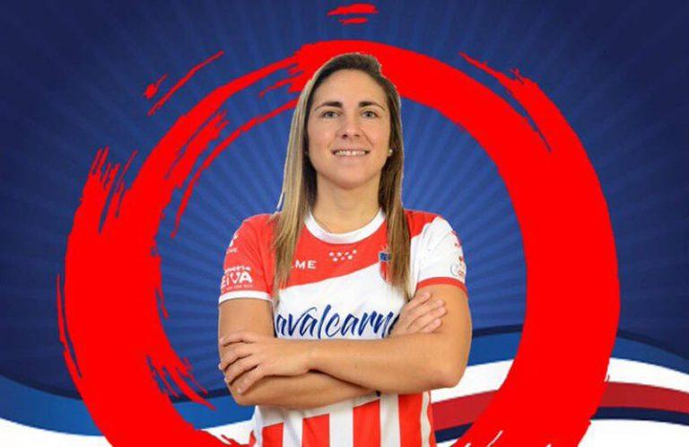 """Ame Romero (Jugadora de Futsi Atlético Navalcarnero): """"Con el equipo que tenemos nuestro objetivo es no perder ningún punto."""""""