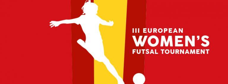 Todo preparado para el gran Torneo European Women´s Futsal