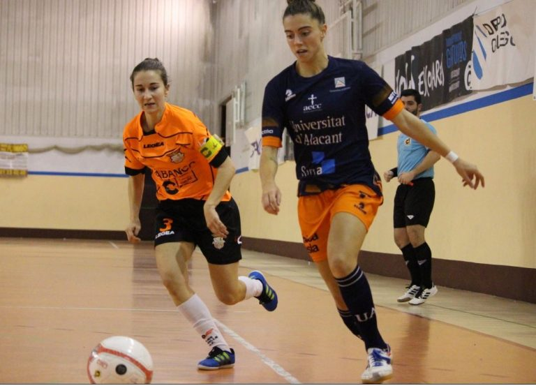 El Viaxes Amarelle FSF cede una derrota por la mínima, tras remontada local, en casa del CD Universidad de Alicante