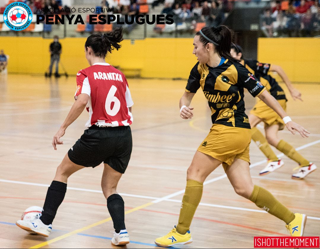 Previa: CD Leganés FS - AE Penya Esplugues . Jornada 22ª. 1ª Div. de Fútbol Sala Femenino