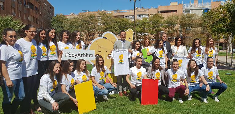 #SoyÁrbitra, una campaña arbitral pionera en España