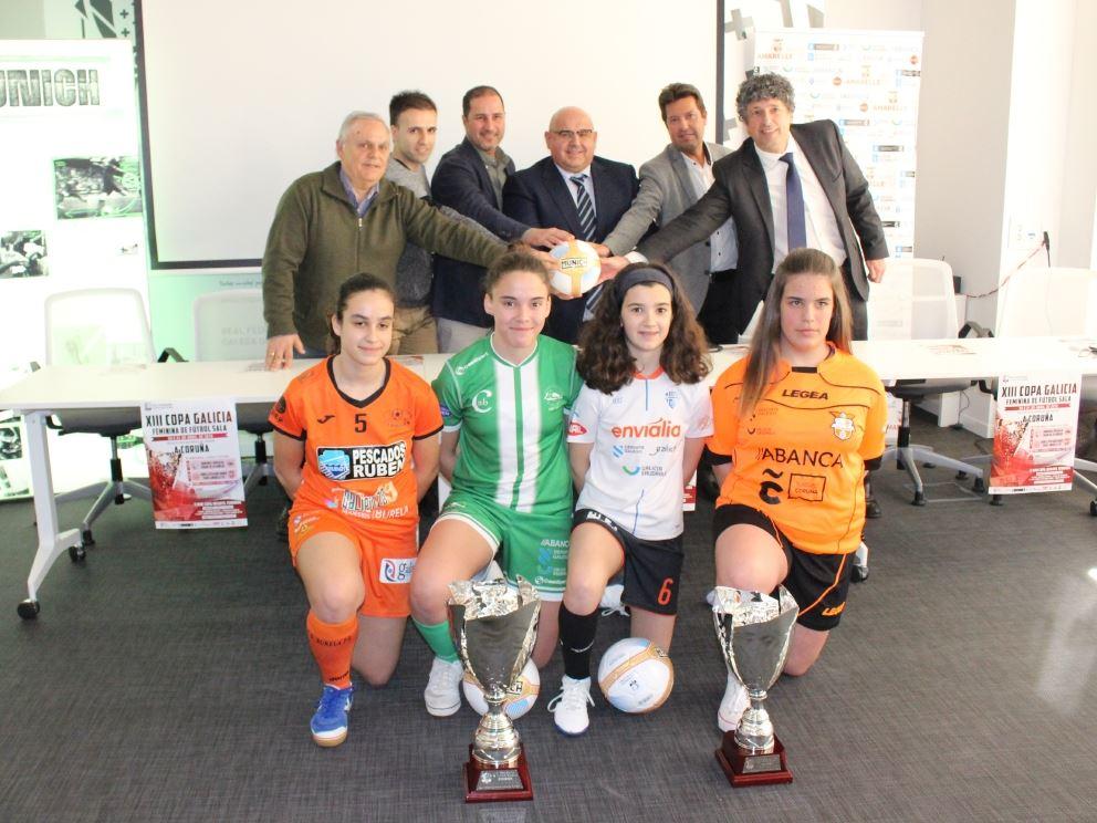 La XIII Copa Galicia Femenina FS llega a la ciudad de A Coruña, por primera vez, de la mano del Viaxes Amarelle FSF