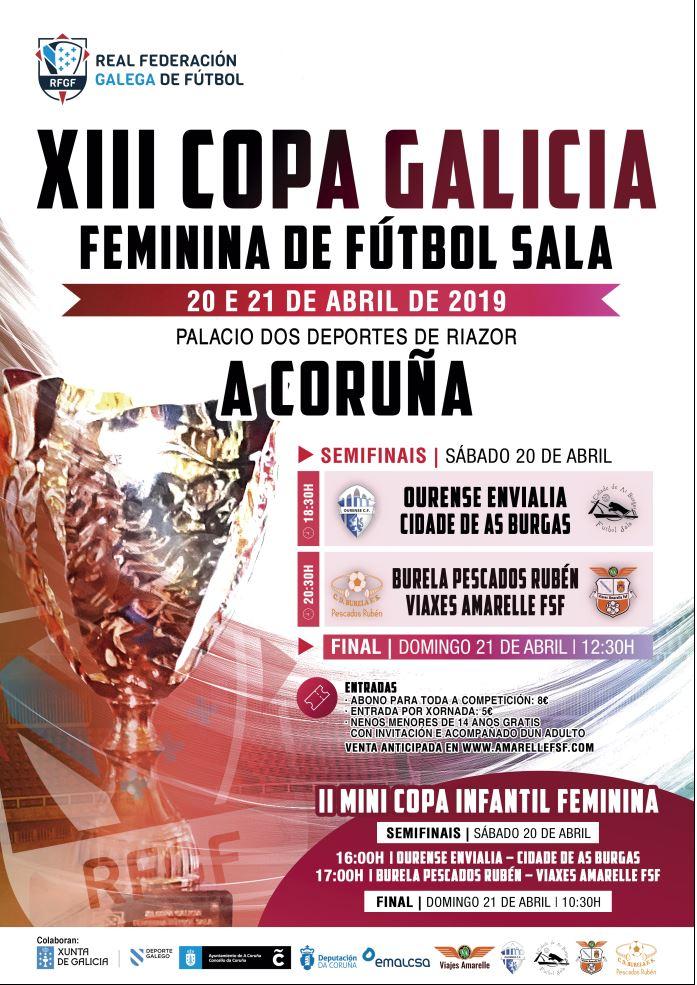 XIII Copa Galicia de Fútbol Sala Femenino