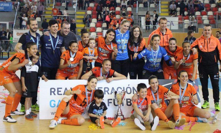 Cuatro años después, el Pescados Rubén se hace con una Copa Galicia Femenina tras derrotar al Ourense Envialia FSF (0-3)