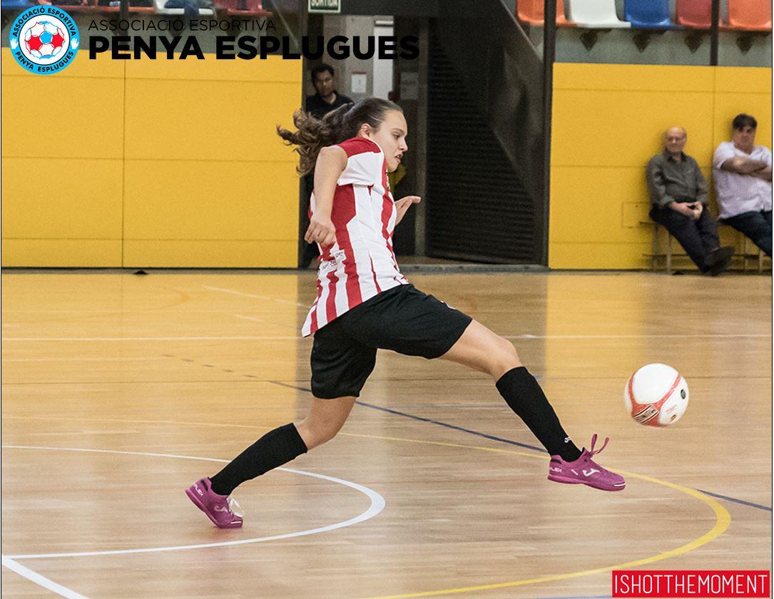 Crónica: AE Penya Esplugues - FSF Móstoles. Jornada 19ª. 1ª Div. Fútbol Sala Femenino