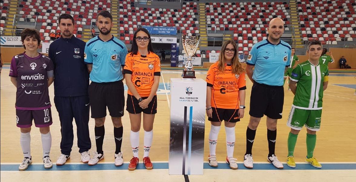 El Ourense Envialia FSF remonta el derbi orensano frente al Cidade de As Burgas FSF, y se mete en la final de la XIII Copa Galicia (4-1)