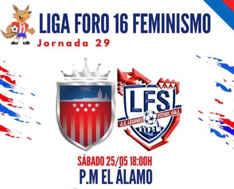 Emisión en Diferido: Futsi Atlético Navalcarnero - CD Leganés FSF. Jornada 29