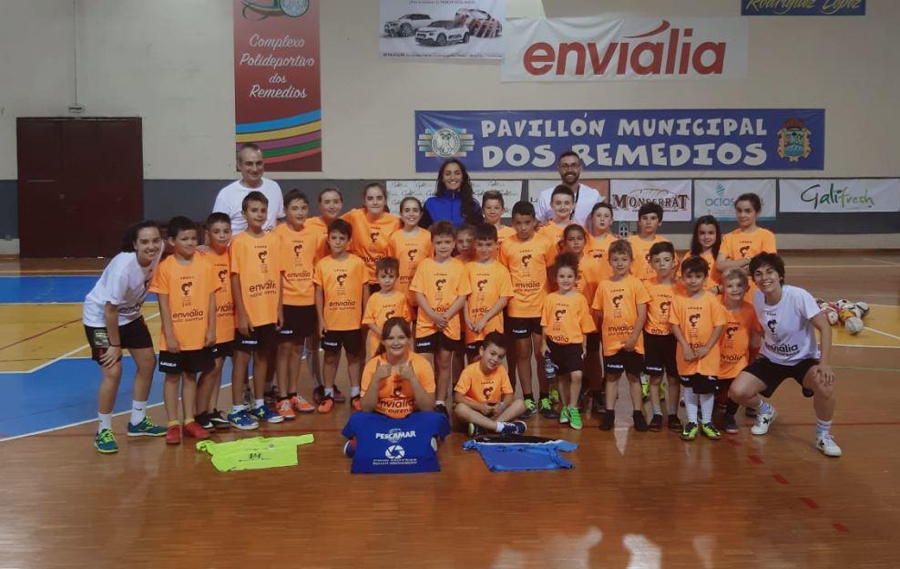 II edición del Campus Mixto Envialia Sala Ourense