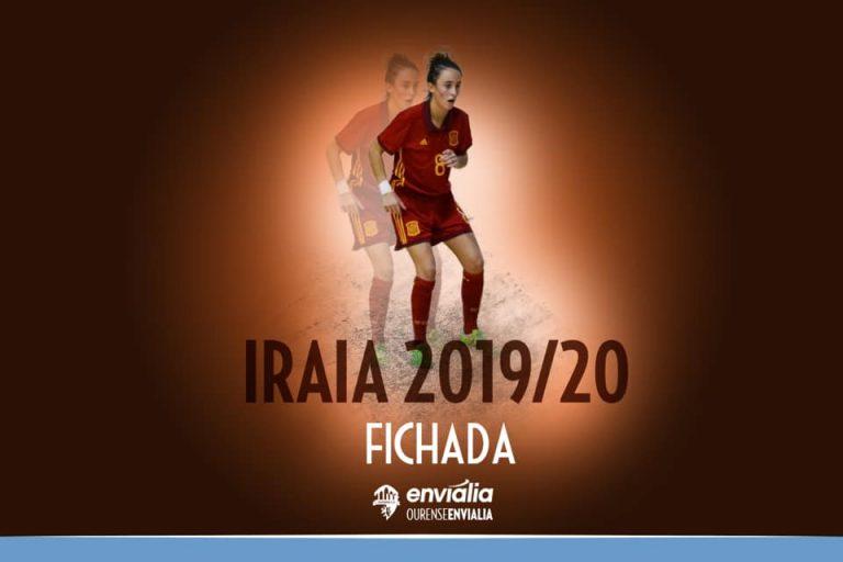 Iraia Arbeloa nueva jugadora del Ourense Envialia FSF