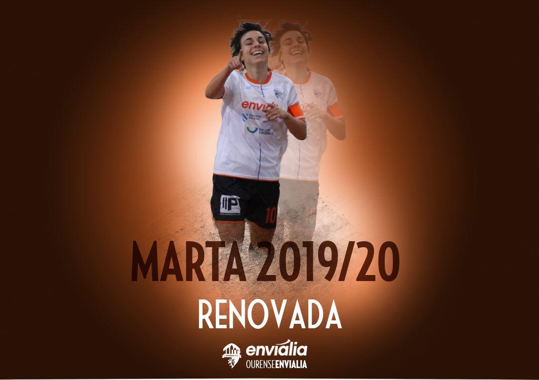 Marta, renueva por Ourense Envialia FSF
