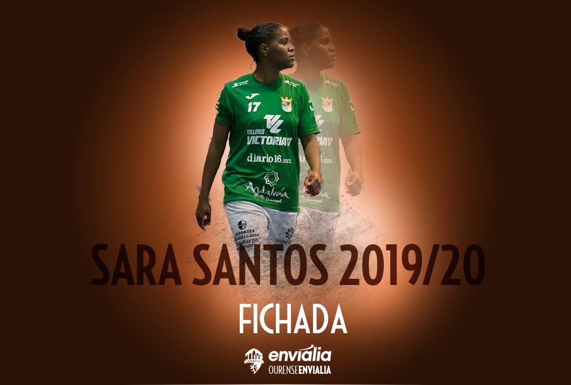 Sara Santos, nueva jugadora de Ourense Envialia FSF