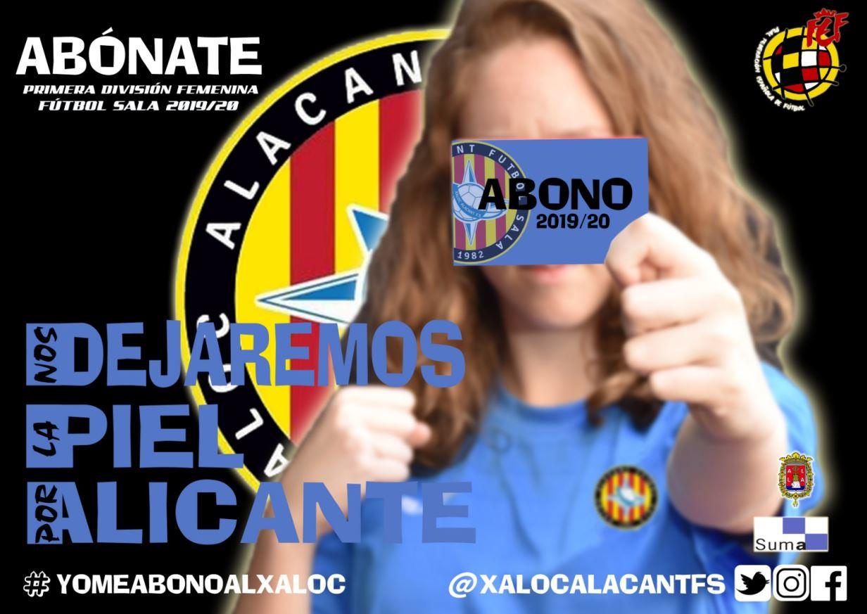 El Xaloc Alacant presenta su Campaña de Abonos para su debut en Primera División
