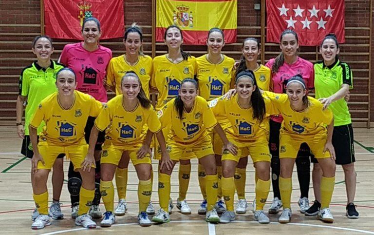 Crónica: AD ALcorcón FSF - Sala Zaragoza. 1ª División. Jornada 9ª