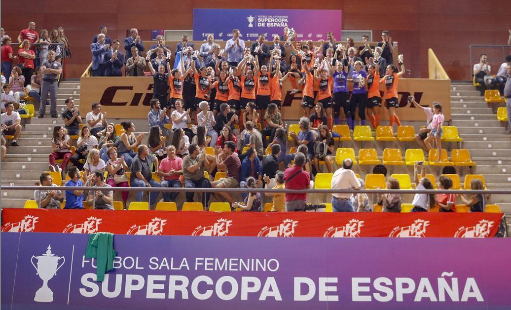 Pescados Rubén Burela Campeón de la Supercopa de Fútbol Sala Femenino