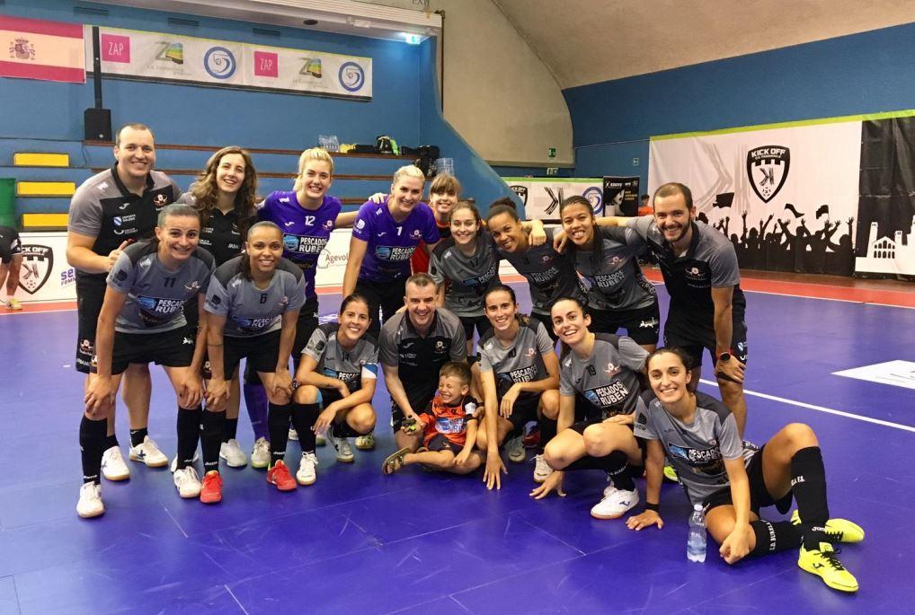 El Pescados Rubén Burela, primer finalista del 4 Nations Futsal