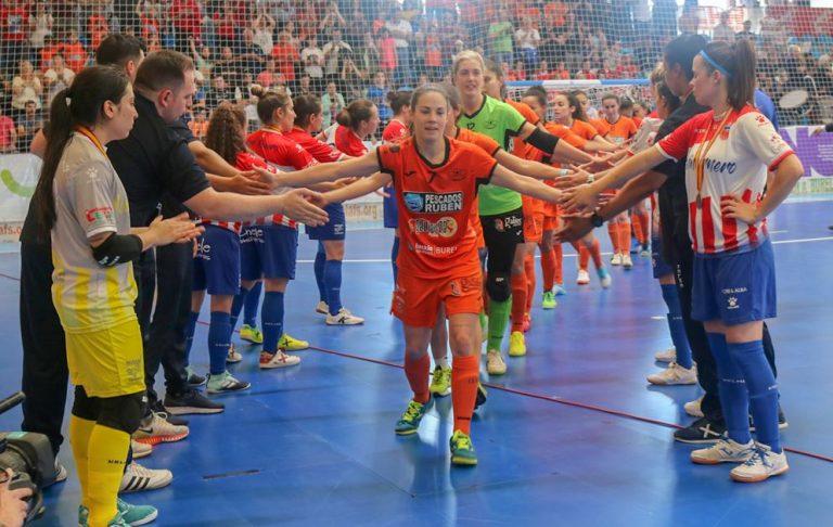 Horarios de la 1ª Jornada de la Copa de la Reina de Fútbol Sala Femenino