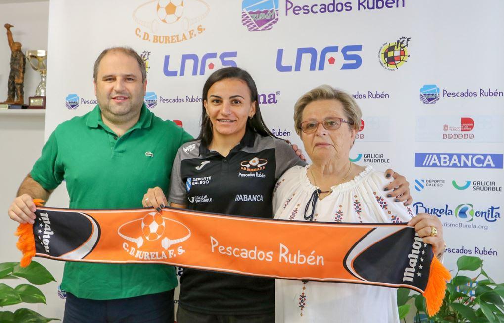 La Internacional Brasileña Jane Marques refuerza el Pescados Rubén Burela 2019/2020