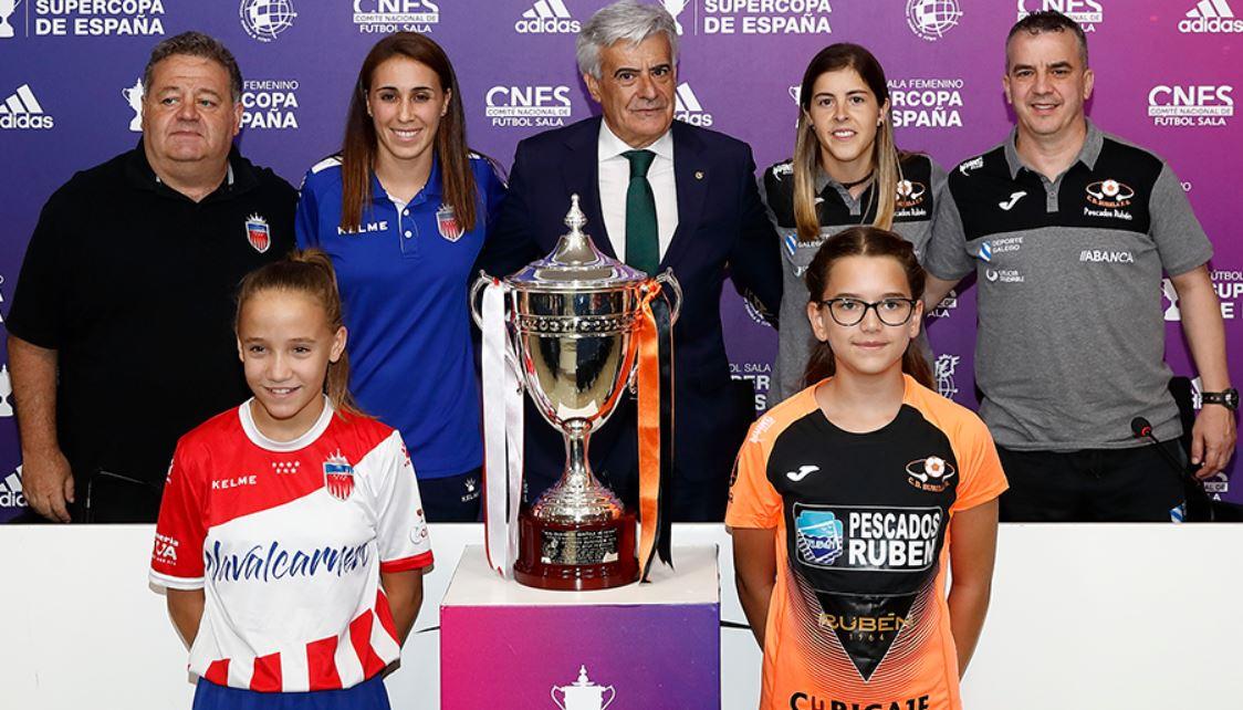 Presentación de la Supercopa de España