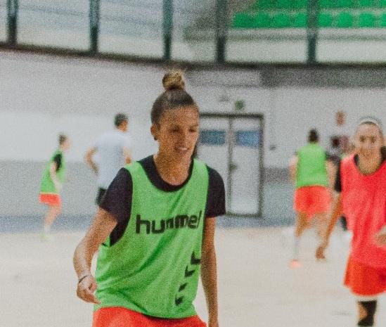 """Consuelo Campoy (Jugadora de UA FSF): """"Solo nos hace falta una victoria para coger la dinámica positiva ya que el trabajo está siendo bueno y el equipo tiene mucha ilusión."""""""