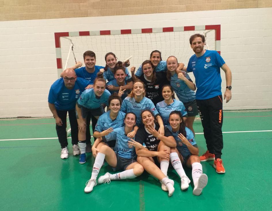 Crónica: Osasuna Lacturale Orvina - Viaxes Amarelle FSF. 2ª División. Grupo 1º. Jornada 4ª