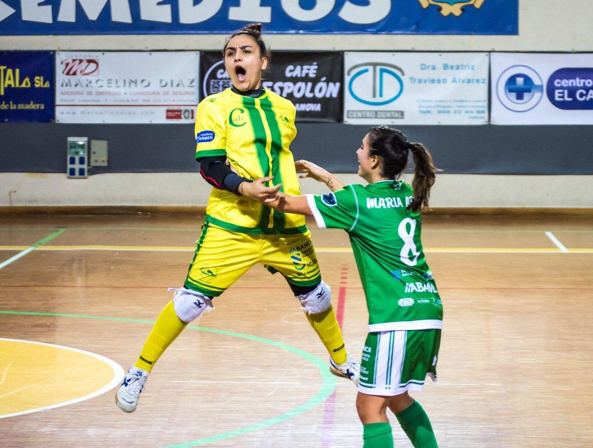 """Ana Lastra (Portera y Jugadora de Cidade de As Burgas):""""El principal objetivo del Cidade es mantener la categoría y pelear cada partido como si fuese el último."""""""