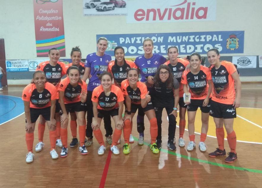 Previa: Pescados Rubén Burela FS - Cidade de As Burgas FSF. Jornada 19ª. 1ª División Fútbol Sala Femenino