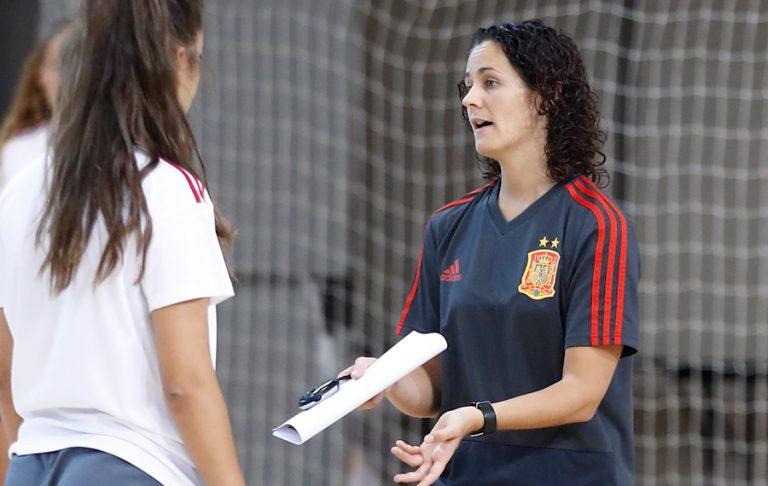 Cláudia Pons, hace balance de la Temporada y los retos que le vienen a la Selección Española de Fútbol Sala Femenino