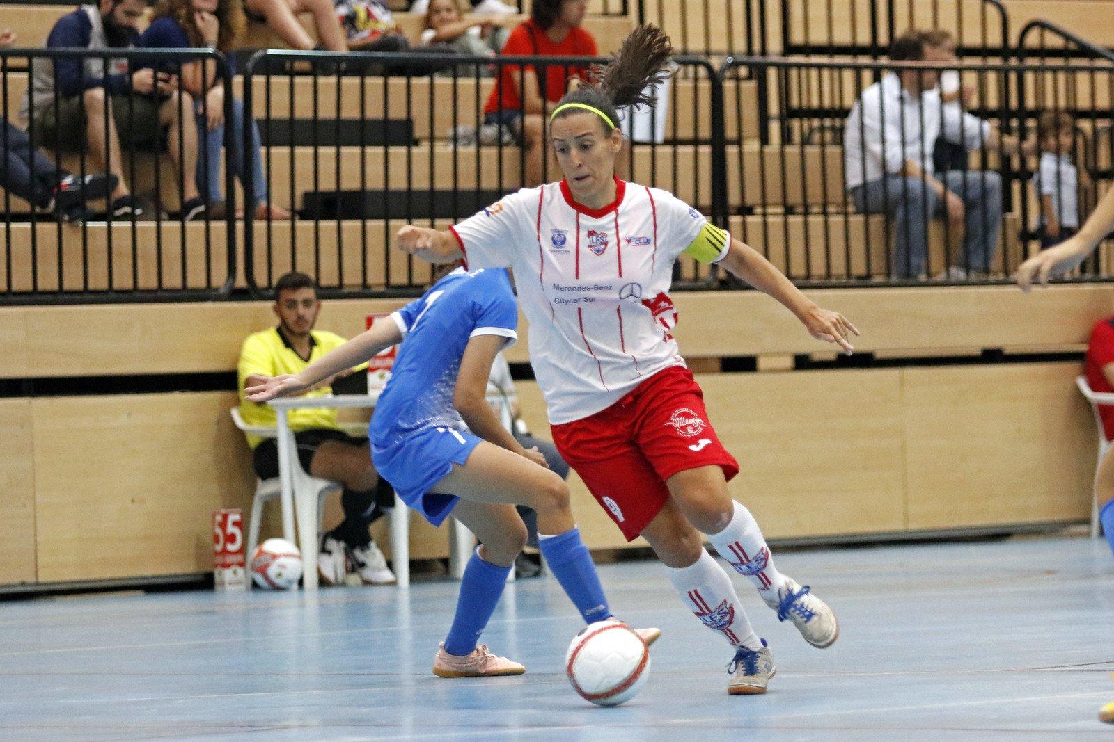 Crónica: Futsi Atlético Navalcarnero - CD Leganés FS . Jornada 23ª. 1ª División. de Fútbol Sala Femenino