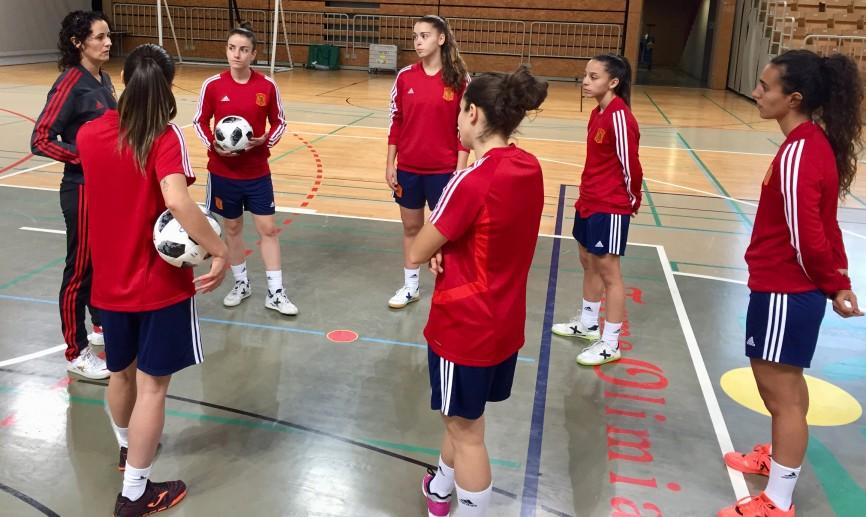 La Selección ya trabaja en Eslovenia preparando los próximos partidos