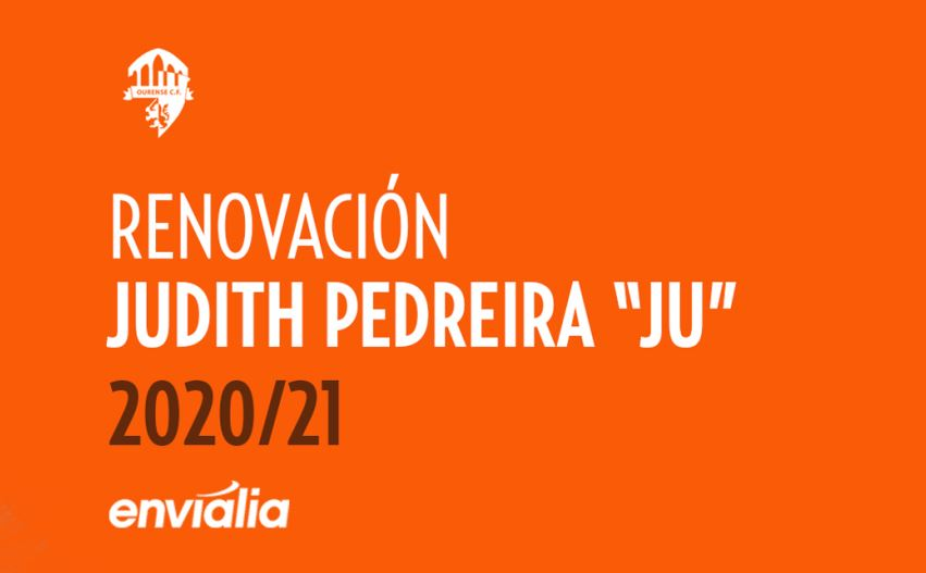 "Judith Pedreira ""Ju"", renueva una temporada con Ourense Envialia FSF"