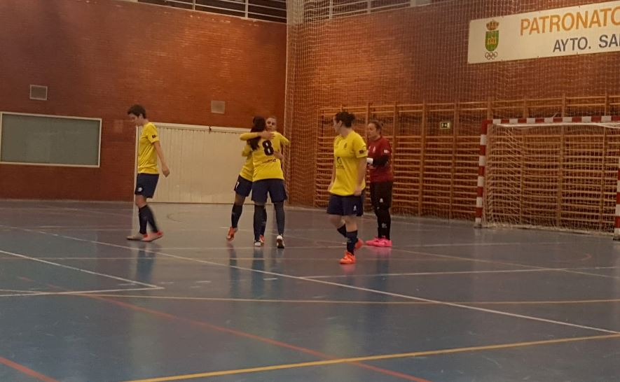 Crónica: C.F.S. Femenino San Fernando - Preconte Telde. 2ª División. Grupo 4º. Jornada 11ª