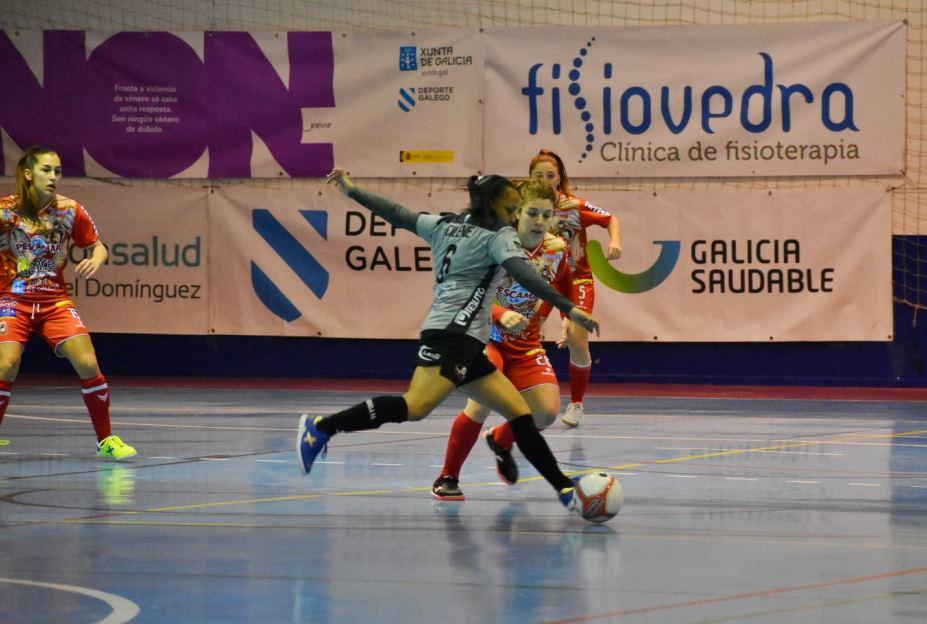 Crónica: Poio Pescamar FS - Pescados Rubén Burela FS. Jornada 16ª. 1ª División Fútbol Sala Femenino
