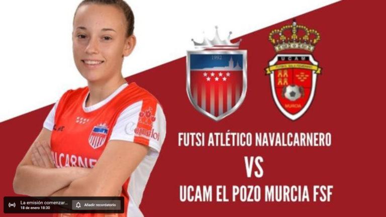 Emisiónes en Directo del Fútbol Sala Femenino. 1ª División. Jornada del 18 y 19 de Enero de 2020