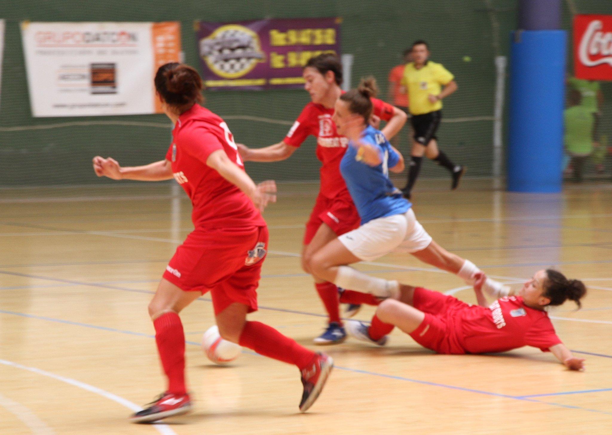 Crónica: Poio Pescamar FS - Bilbo CFS Femenino . Jornada 22ª. 1ª Div. de Fútbol Sala Femenino