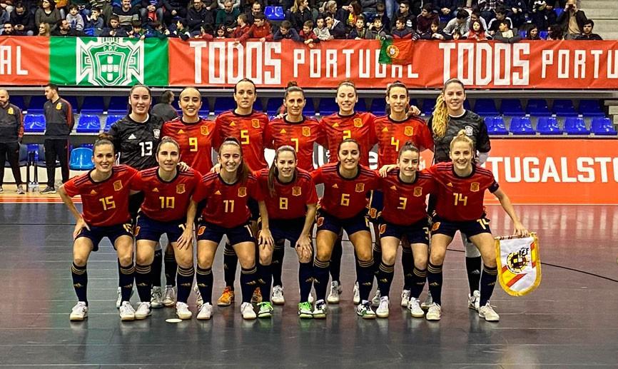 La Selección Española de Fútbol Sala Femenino pierde 5 a 1 contra Portugal en el segundo amistoso