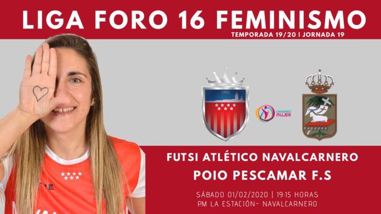 Emisiónes en Directo del Fútbol Sala Femenino. 1ª División. Jornada 19ª.