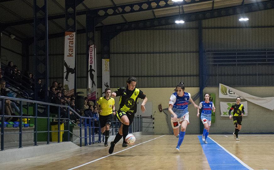 Crónica: O Fisgón Futsal - Ourense Envialia B. 2ª División. Grupo 1º. Jornada 14ª