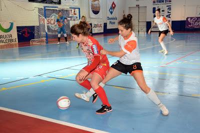 Previa de los Cuartos de Final Copa de S. M. La Reina de Fútbol Sala Femenino: Poio Pescamar FS - STV Roldán