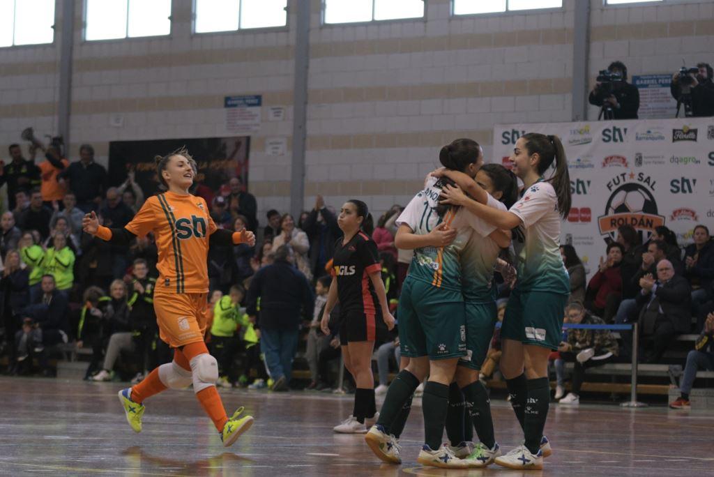 Previa: STV Roldán - Ourense Enviialia FSF. Jornada 20ª. 1ª Div. de Fútbol Sala Femenino
