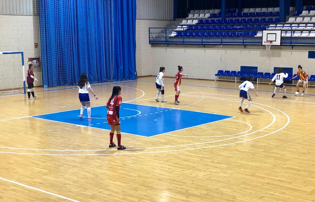 Fiesta del fútbol sala femenino aragonés en Pinseque