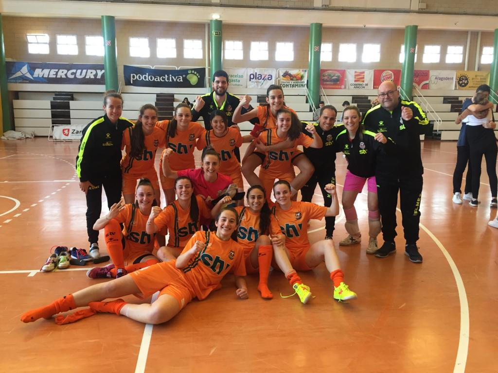 Crónica: Sala Zaragoza - STV Roldán. Jornada 21ª. 1ª Div. Fútbol Sala Femenino