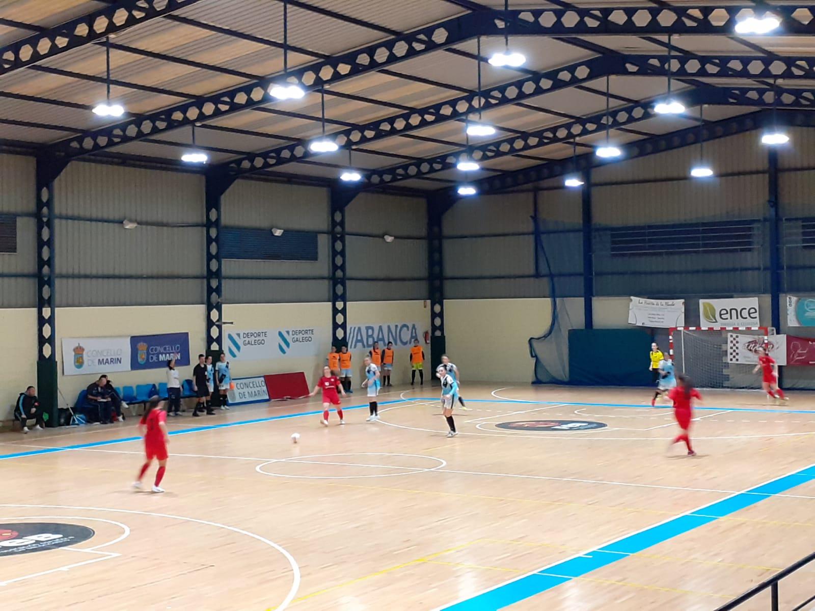 Crónica: O Fisgón Futsal - Universidad de Valladolid. 2ª División. Grupo 1º. Jornada 16ª