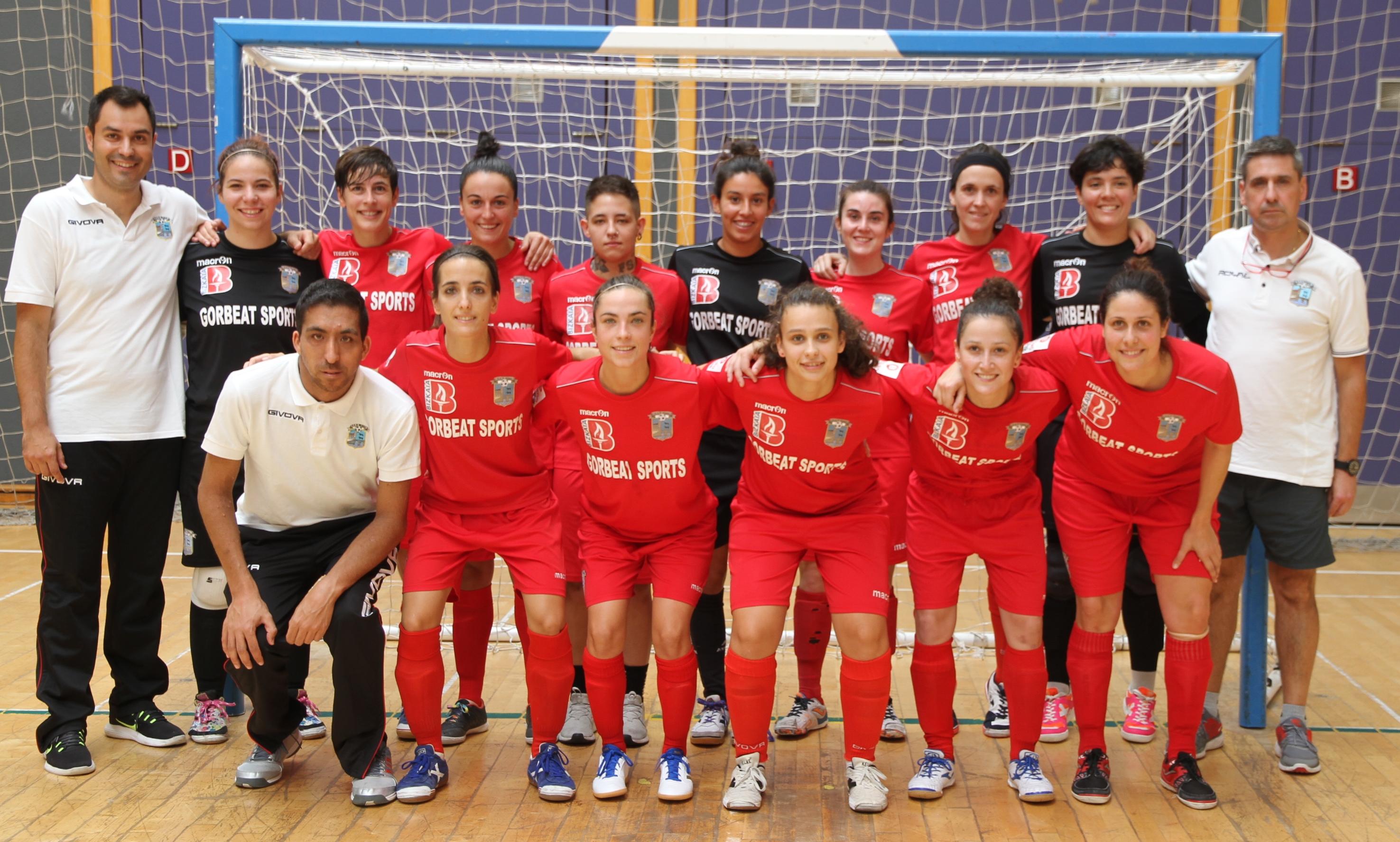 Crónica: Bilbo C.F.S Femenino - FSF Móstoles . Jornada 23ª. 1ª División. de Fútbol Sala Femenino
