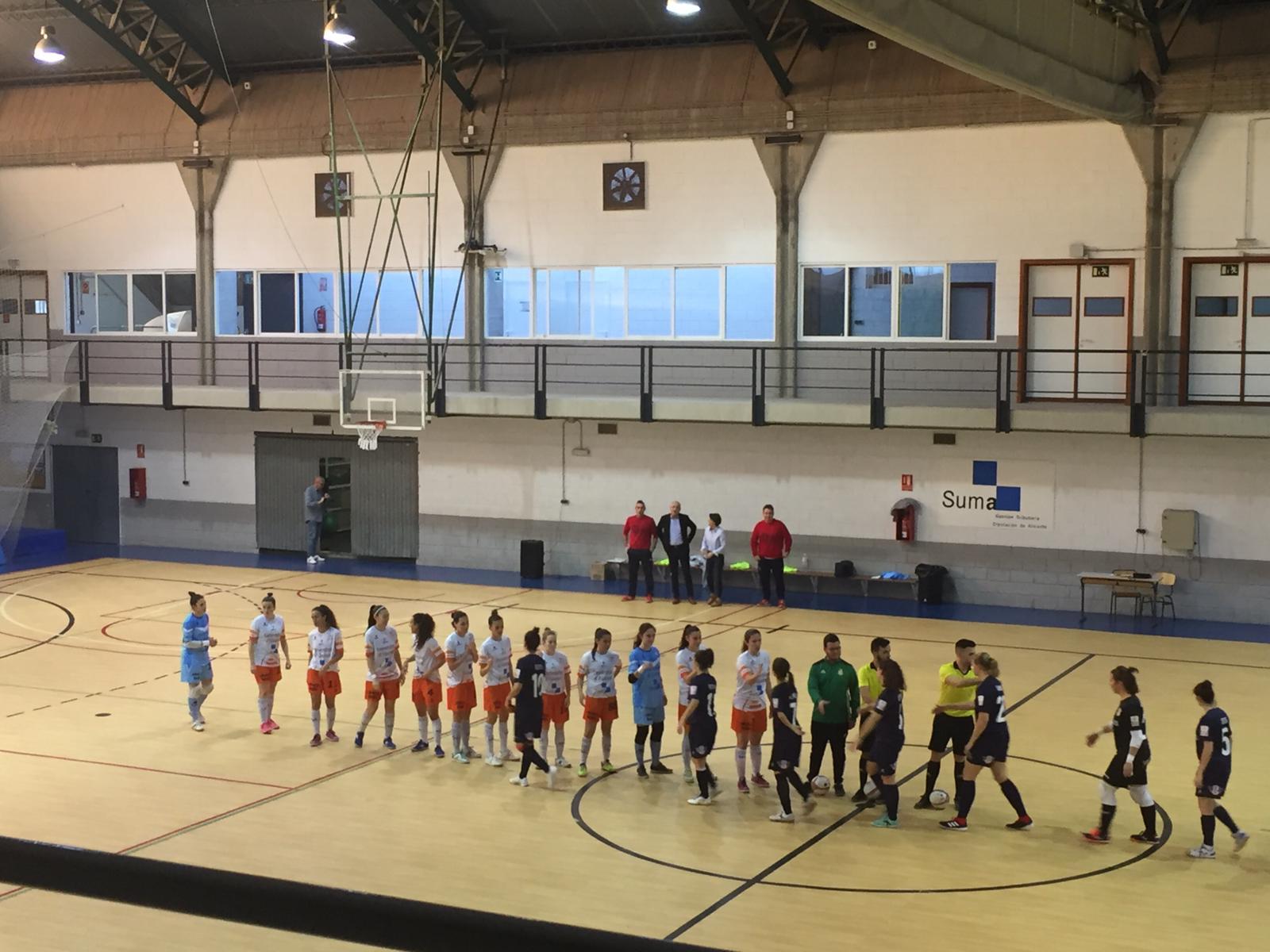 Crónica: Universidad de Alicante FSF - Bilbo Fútbol Sala Femenino. Jornada 19ª. 1ª División Fútbol Sala Femenino